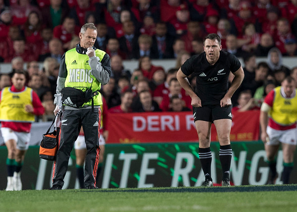 Ben Smith during game 7 of the British and Irish Lions 2017 Tour of New Zealand, the first Test match between  The All Blacks and British and Irish Lions, Eden Park, Auckland, Saturday 24th June 2017 (Photo by Kevin Booth Steve Haag Sports)  Images for social media must have consent from Steve Haag