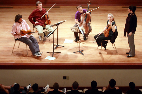 2010 Basketball Players with String Quartet