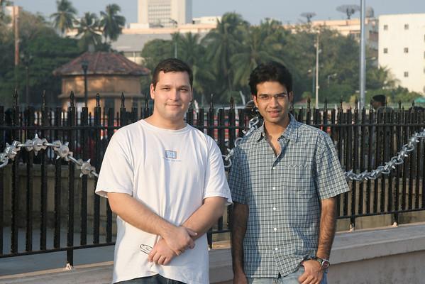 India, for Lara's wedding. 2006