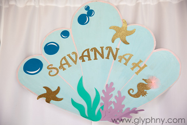 Savannah's 1st birthday party