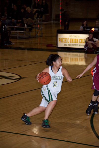 PUC Womens Basket ball 2010
