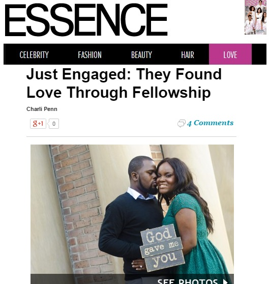 Fotos by Fola Couple Dami and Toyosi featured on Essence Magazine