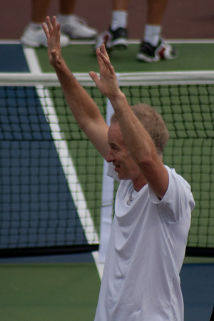 John McEnroe v Andy Roddick