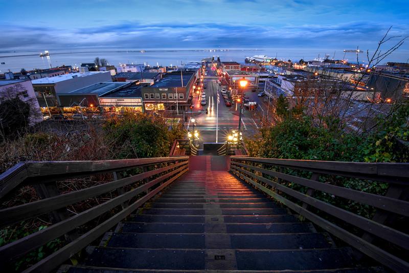 Twilight, Port Angeles, Washington