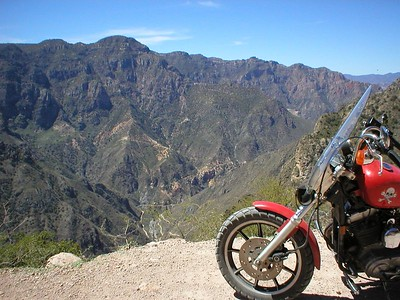 Solo Motorcycle Adventure - Mexico & Copper Canyon 03'- Ride Report