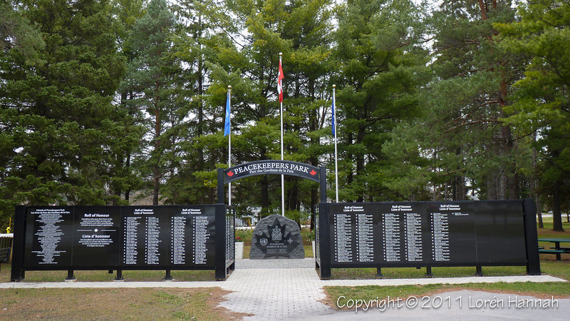 Peacekeepers Park - Barrie, ON - M113.5 Lynx