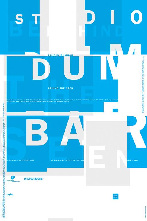 2000 - Exposition - Studio Dumbar Behind the Seen ©Alexandre Renzo