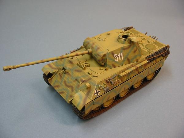 1/35 Tamiya Panther Ausf. A