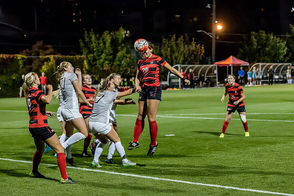 2016 Seattle U Women's Soccer vs Idaho