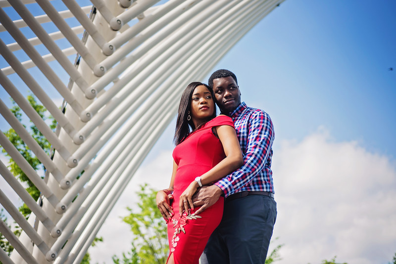 Toochukwu & Chinomso Engagement Portraits