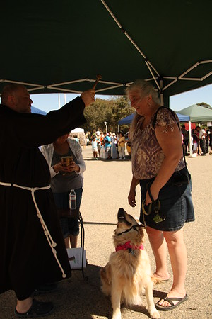 10-05-13 St. Francis Blessing of the Animals