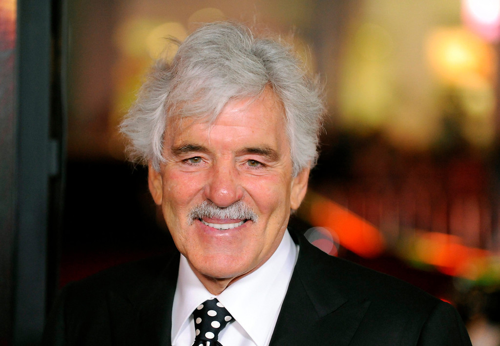 """. Actor Dennis Farina arrives at the Hollywood premiere of the HBO series \""""Luck\"""" in Los Angeles, California in this file photo taken January 25, 2012.   REUTERS/Gus Ruelas/Files"""