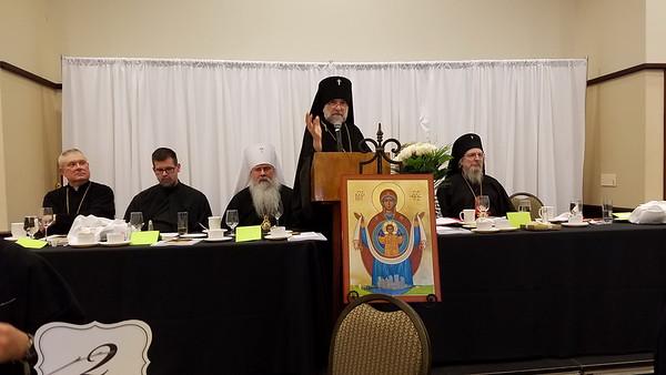 Community Life - Metropolitan Tikhon Visit to Holy Trinity - November 11, 2016