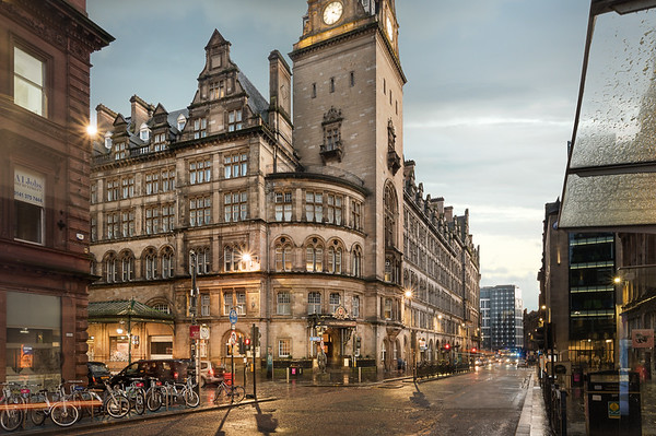 Hotel Photographer | Glasgow Grand Central Hotel by Voco