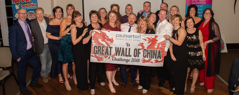Paul Sartori's Great Wall of China Presentation Dinner