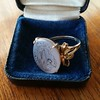 """Mama"" Bear Family Crest Chalcedony Ring, by Seal & Scribe 8"