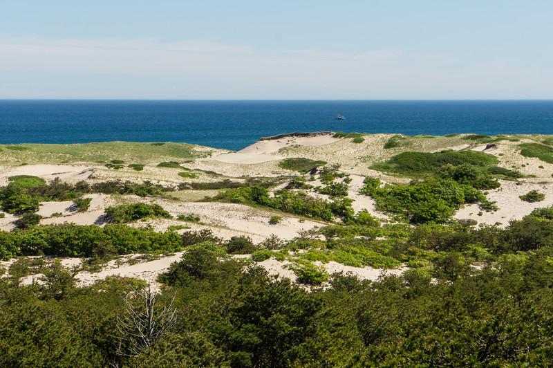 Dunes and the Atlantic Ocean