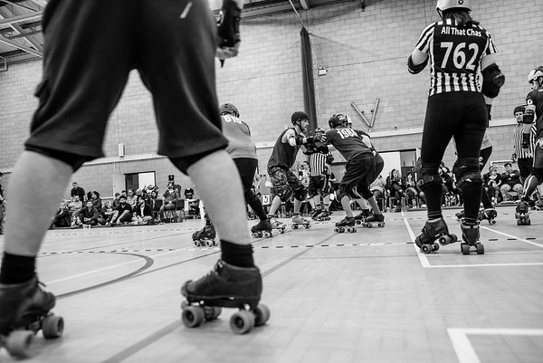 Roller Derby - Smacky Races - mens rookie game