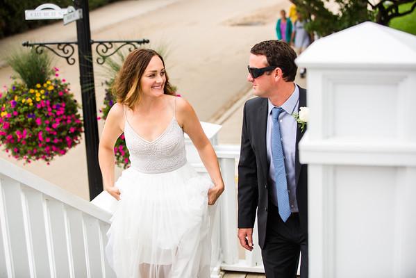 Sarah + Erik / Mackinac Island intimate Wedding