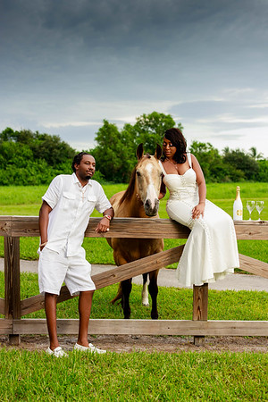 Shayquana and Barry's Engagement Shoot