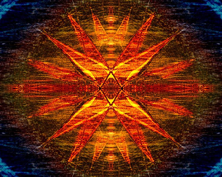 Hexagram Mandala