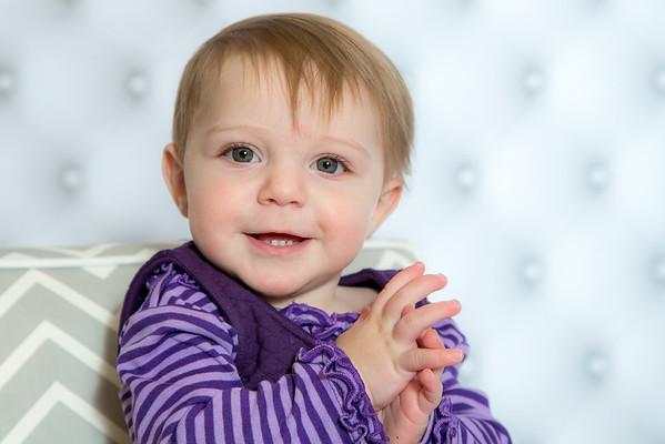 Violet 9 months