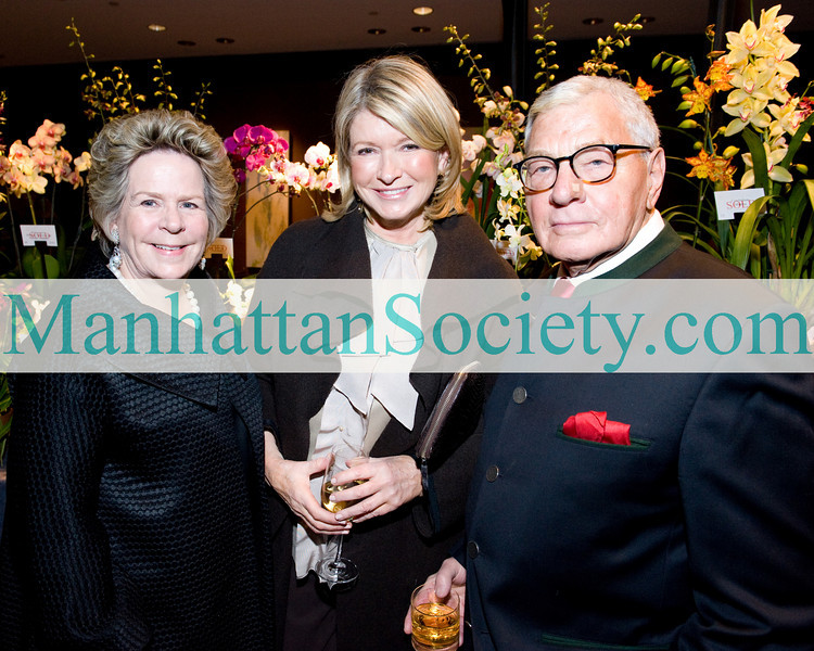 The New York Botanical Garden's Annual Orchid Dinner 2011