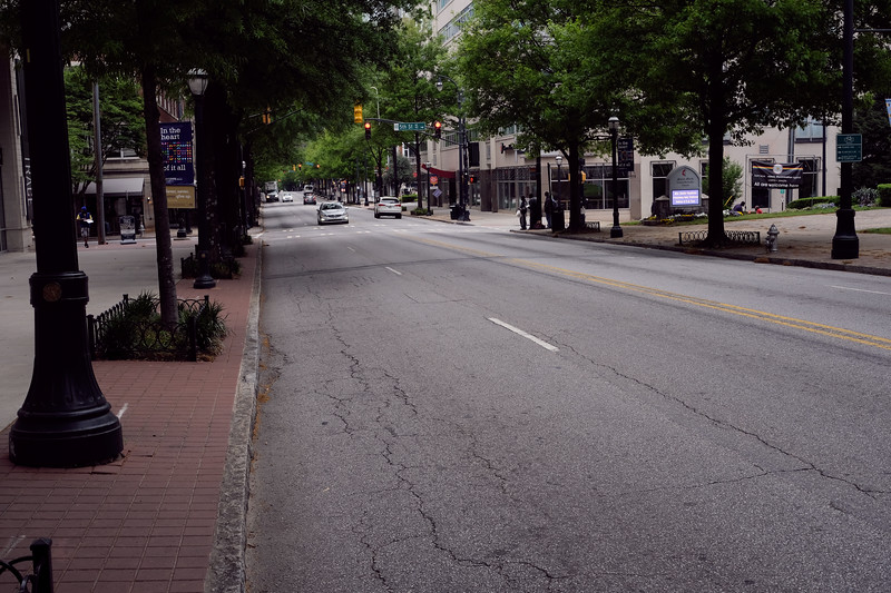 Peachtree Rd in Midtown
