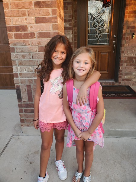 Holly & Sarah | 4th grade & 2nd grade | Whitestone Elementary
