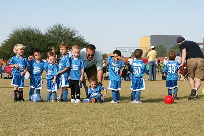 Sharks NYS Soccer Team - Game 1 - October 13, 2007