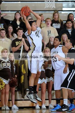 Boys varsity basketball - Holt vs Jackson - District semi - March 7