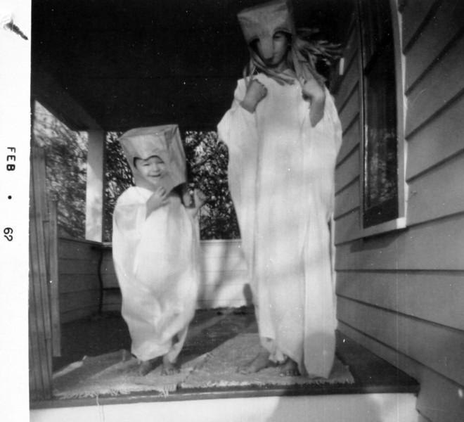 Normie & George on Halloween.JPG