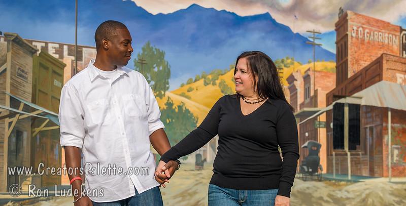 Heather & Khalfani Engagement Photos