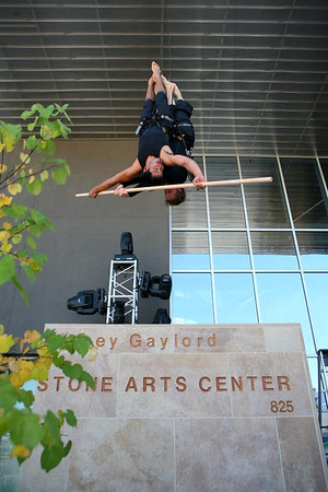 Project Bandaloop at Edith Kinney Gaylord Cornerstone Arts Center