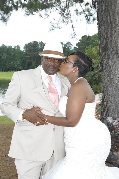 Elanda  & Terrence Wedding