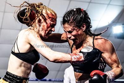Rachel Ball vs Eftychia Kathopouli Featherweight Contest