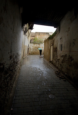 Walking the streets in Morocco