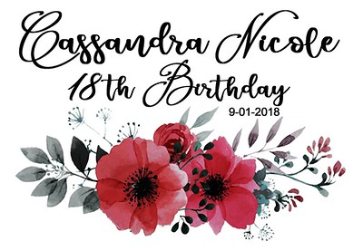 20180901 Cassandra's 18th Birthday