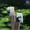 Tiffany & Co. Bubble Diamond and Tsavorite Earrings 6