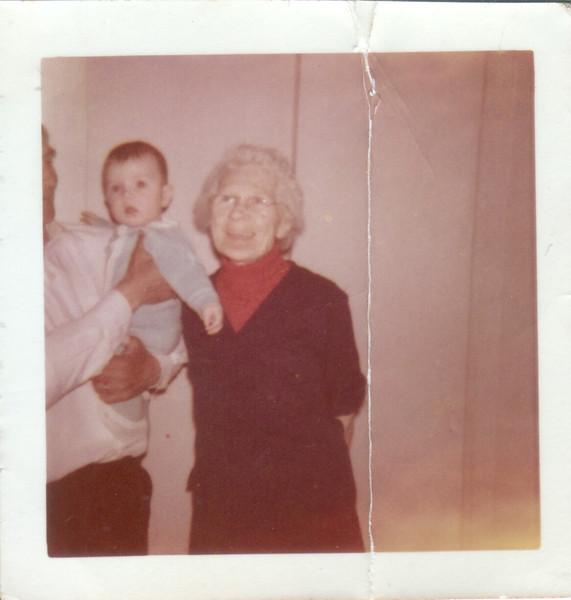 George, dad, and Grandmom Maime