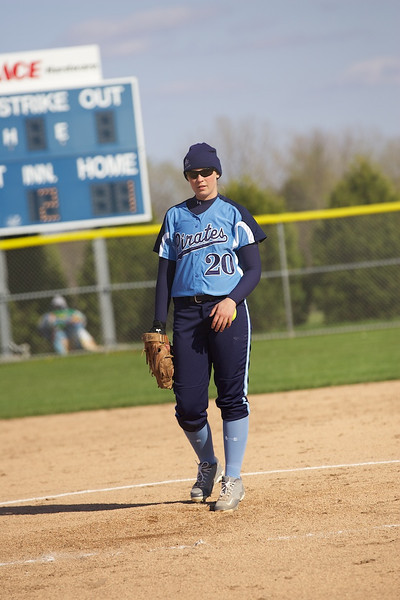 Bay Port Varsity Softball 4-26-2012