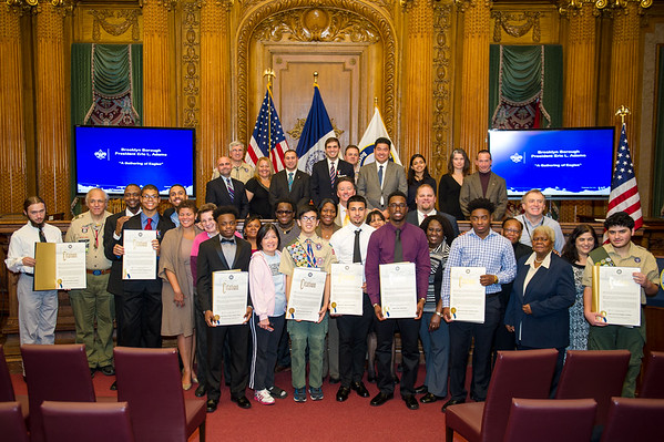 Brooklyn Eagle Scouts Proclamation Ceremony