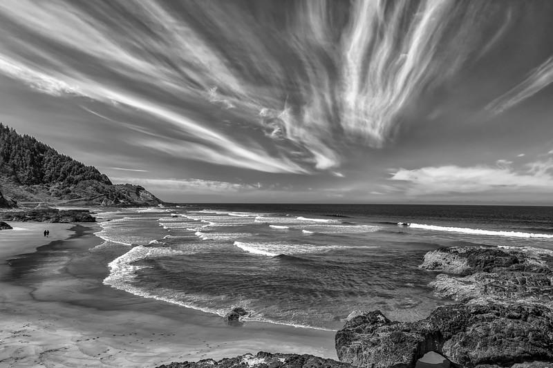 B/W Beachscape