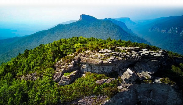 Linville Gorge - Hawksbill - Table Rock - Chimneys