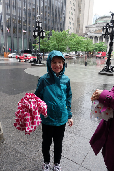 Raining again.  Morning at Biodome was fine.  Now off to old montreal in the rain again.