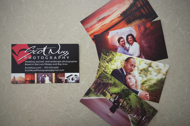 Scott Nuss Photography Business Cards