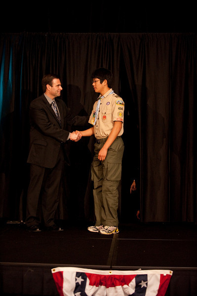 Council Recognition Dinner Silver Beaver 2010 - Eagle Scouts