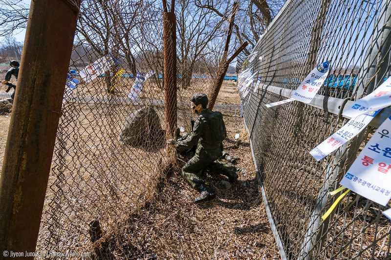North Korean spies who infiltrated South Korea border on January 1968