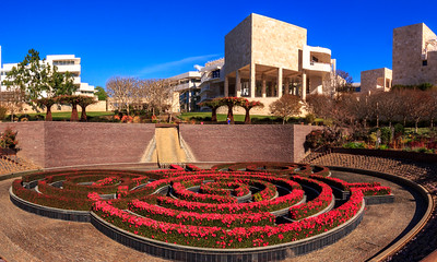 Getty Museum - Architectual & Gardens - Jan 28, 2018