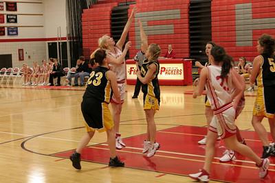 Girls Freshman Basketball - 2007-2008 - 12/4/2007 Kenowa Hills